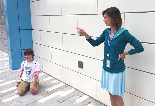 IndyGo's Lauren Day took time out of her busy schedule to meet with our campers.