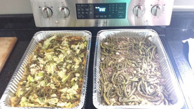 Just in case you are wondering what we ate, this was Thursday's lunch, shepherd's pie, vegan-style, made from ingredients donated from Pogue's Run Grocer and Indy Urban Acres. Chef Sam Piper did a fabulous job!