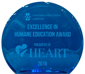 Excellence in Humane Education Award