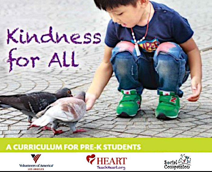 "Free ""Kindness for All"" Curriculum for Pre-K Students Available Now"